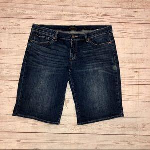 Lucky Brand The Bermuda denim shorts size 14